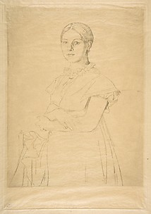 Madame Granger, after Ingres