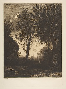 Landscape, after Corot