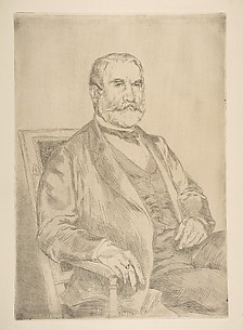 Portrait of Louis Robert