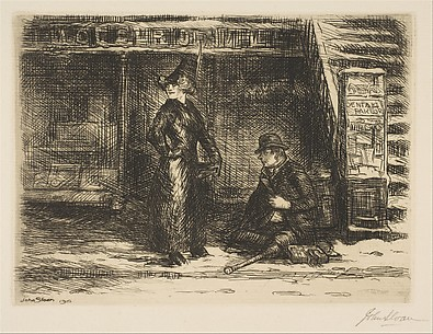 Girl and Beggar