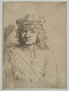 The Artist's Son, Titus (copy)