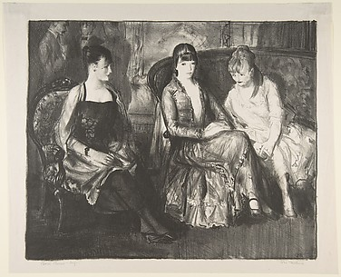 Marjorie, Emma and Elsie