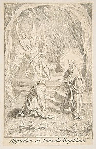 Christ appearing to Mary Magdelen