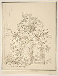 Seated Woman with a Putto