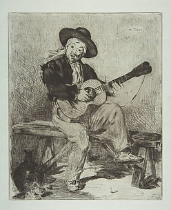 The Spanish Singer (Le Guitarrero)