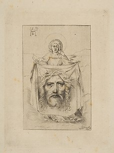 Saint Veronica with the Sudarium