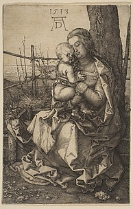 The Virgin Seated Caressing the Child
