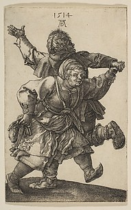 Peasant Couple Dancing