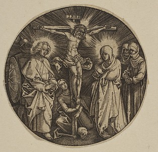The Crucifixion (Round)