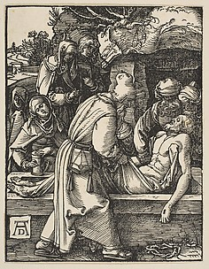 The Entombment, from The Little Passion
