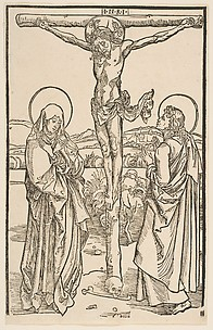 Christ on the Cross with the Virgin and St. John