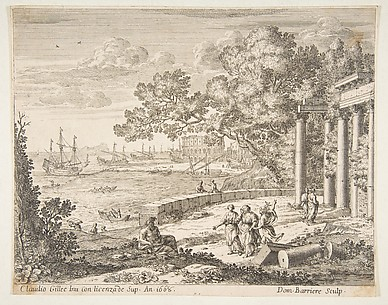 Landscape with Mercury