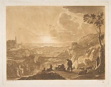 Landscape after Claude