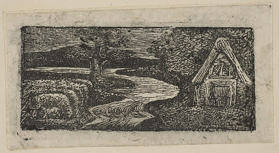 Sabrina's Silvery Flood, from Thornton's Pastorals of Virgil