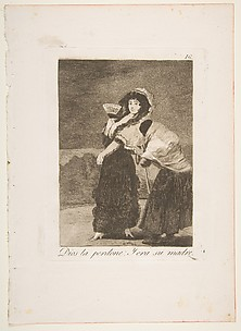 For Heaven's Sake: And It Was Her Mother (Dios la Perdone: Y era su madre), from The Caprices (Los Caprichos), plate 16