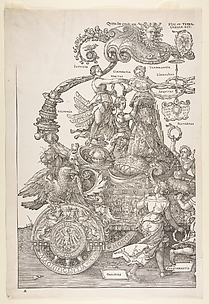 The Triumphal Chariot of Maximilian I (The Great Triumphal Car)