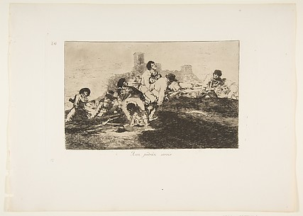 They Can Still Be of Use (Aun podrán servir), from The Disasters of War (Los Desastres de la Guerra), plate 24