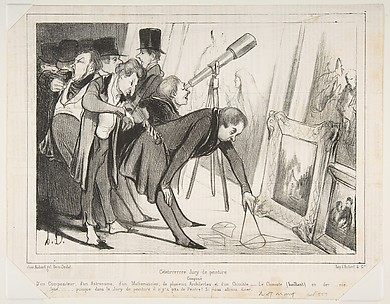 Celebrrrre Jury de Peinture..., published in Le Charivari, March 16, 1840