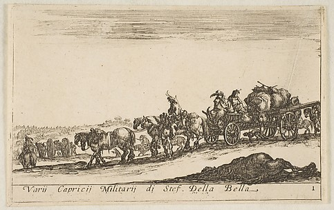 Frontispiece: Baggage Train of an Army