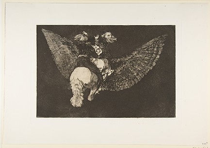 Flying Folly, plate 5 from Disparates