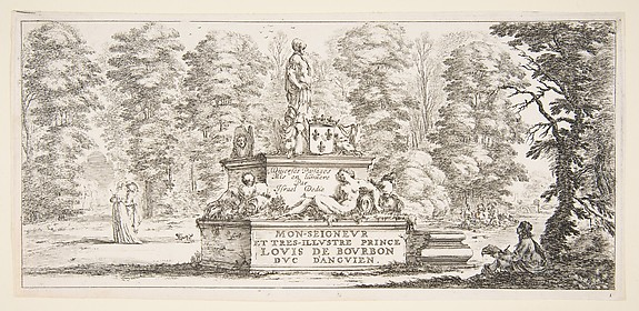 Title Page for Divers paysages: Monument in a Landscape