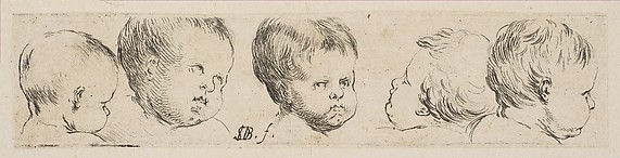 Five Heads of Children