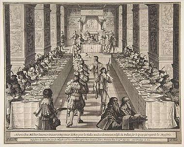 Banquet of the Chevaliers of the Holy Spirit (Le Festin des chevaliers du Saint-Esprit)