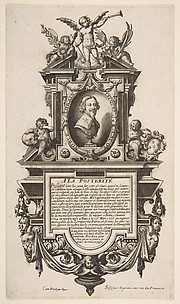 Portrait of Jacques Callot (Épitaphe de Jacques Callot)
