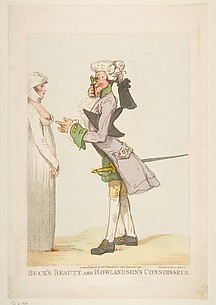 Buck's Beauty and Rowlandson's Connoisseur
