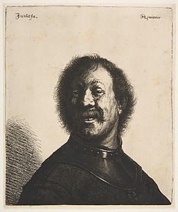 Laughing Man in a Gorget