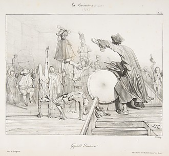 Grands Sauteurs!, from La Caricature