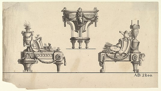 Three Designs for Architectural Trophies