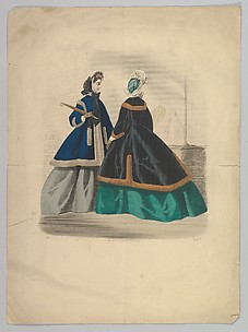 Two Women Wearing Coats