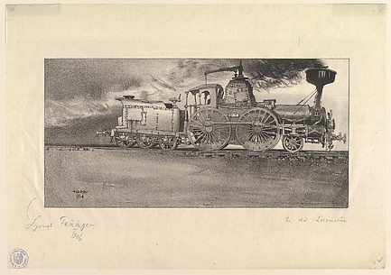 The Old Locomotive (Windspiel)