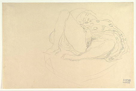 Reclining Nude with Drapery