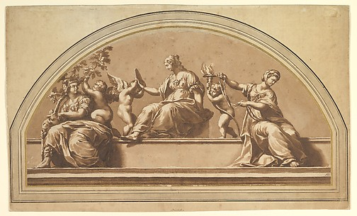 Three Virtues (after Raphael)