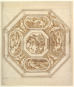 Design for an Octagonal Ceiling (or Dish?)
