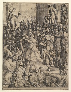 The Martyrdom of Saint Lucy