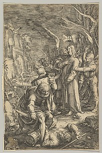 The Arrest of Christ, from The Passion of Christ, plate 3