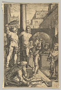The Flagellation, from The Passion of Christ, plate 6
