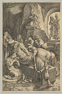 The Entombment, from The Passion of Christ, plate 11