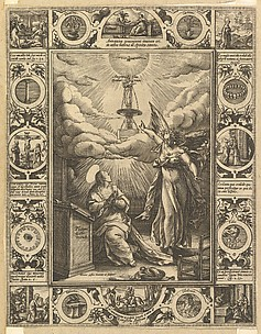 Ave Maria, from Allegorical Scenes on the Life of Christ, from Christian and Profane Allegories