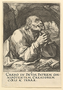 Saint Peter, from Christ and the Apostles