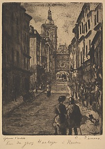 The Street of the Grand Clock, Rouen