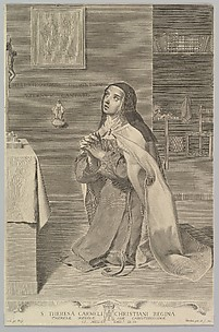 St. Theresa Kneeling in Prayer