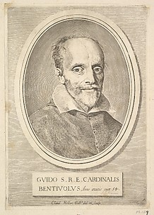 Portrait of Cardinal Guido Bentivoglio