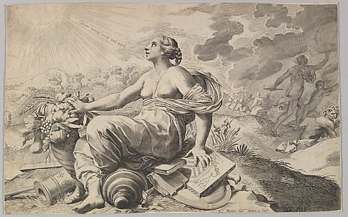 Allegory of France with the Arms of Richelieu (Allégorie sur la Paix)