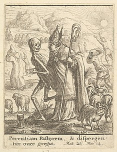 Bishop, from the Dance of Death