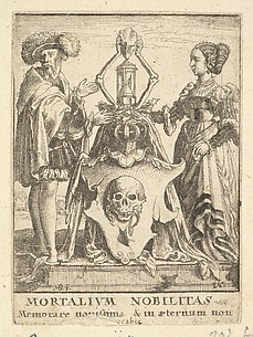 Death's Coat of Arms, from the Dance of Death