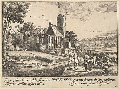 August, after Jan van der Velde